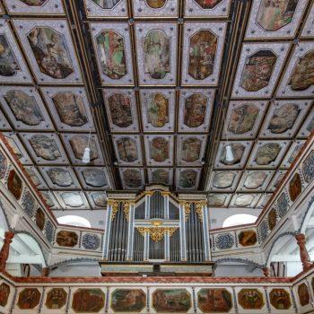 Regnitzlosau St. Aegidius Decke und Altar